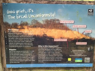 The Ercall Unconformity - what it's all about